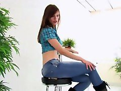 buttcrush doll giantess jeans face sitting