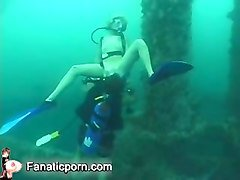 blowjob underwater